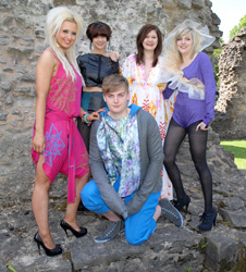 Dudley College Fashion Students