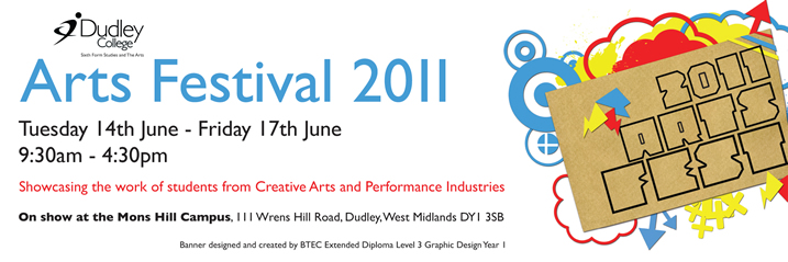 Dudley College Arts Festival 2011