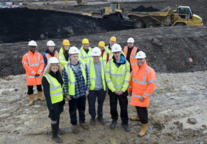 Dudley's North Priory regeneration scheme apprentices