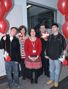 Students from Dudley College