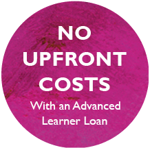 No Upfront Costs with an Advanced Learner Loan