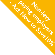 Non-levy paying employers - Act now to save 10%