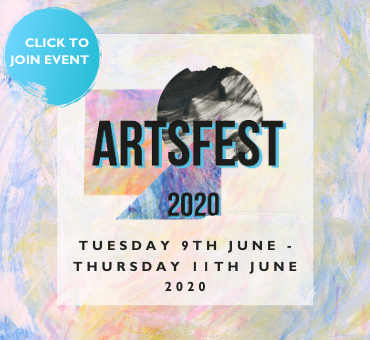 Artsfest 9th to 11th June 2020